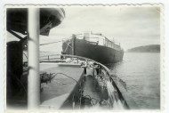 vanha valokuva Möhkön Manta-laivasta